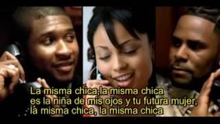 R.Kelly,Usher-Same Girl subtitulada en español