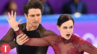 This Figure Skating Move Was TOO HOT For The Olympics