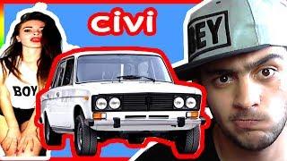 LADA VAZ 2106 AVTOŞ QIZ MİNDİRİB DAĞDAN TULLADIM GTA 5 (MARAQLI ANLAR)