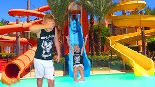 Bad Baby Summer Vacation in Real Life for Kids Babies Toddlers