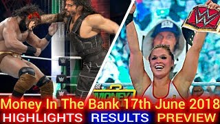 WWE Money In The Bank 17th June 2018 Highlights Hindi Preview - Brock Lesnar vs Roman Reigns Again?