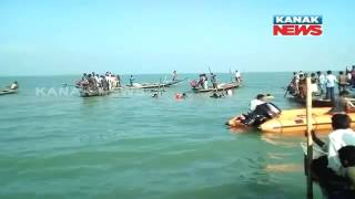 Rescue Operation Of Chilika Boat Drowning