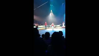 Rollercoaster ride at Big Apple Circus