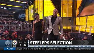 Ryan Shazier Walks Out To Announce Steelers Pick | 2018 NFL Draft