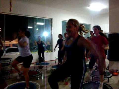 Aula de Jump Fit na Academia Gaviões Tremembé URRULLLLLLL