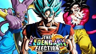 LEGENDARY ELECTION UPDATE! WE HAVE OUR LR WINNER! Dragon Ball Z Dokkan Battle