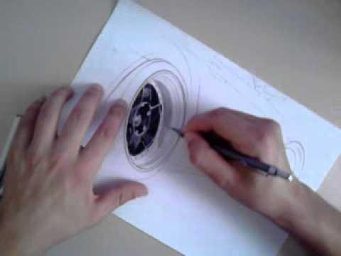 Pintando as rodas Éric Gutemberg