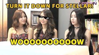 Entrevista: Stellar ensina como seduzir o Crush | Kpop Idol Stellar teaches how to seduce - Parte 1