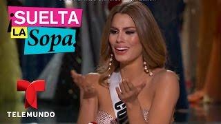 Suelta La Sopa | Miss Colombia no creció con sus padres biológicos | Entretenimiento