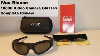 iVue Rincon POV Action Video Camera Glasses - Complete Review, Unboxing and Testing Review (2017)