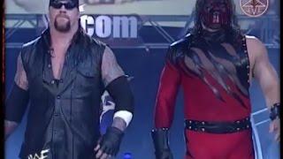 مباراة جنونية #7 | اندر تيكر و كين ضد تربل اتش و كيرت انجل