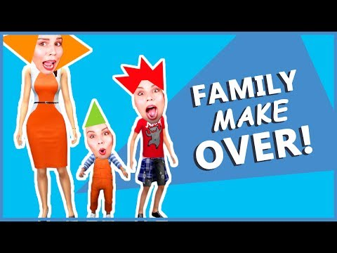 Xxx Mp4 FAMILY GLO UP MAKEOVER The Sims 4 My Dream Life 3gp Sex