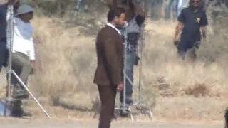 Ajay Devgan Reached Nagour For Ad Shooting