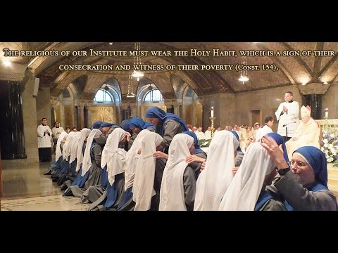 SSVM Taking of the Holy Habit