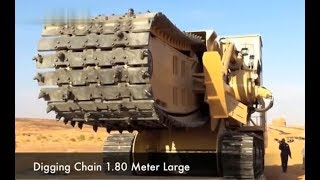 Extreme Modern Biggest Disc and Chain Trenchers Machines Worlds Most Powerful Heavy Equipmt 2018