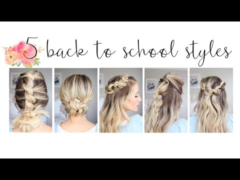 Xxx Mp4 5 Easy Back To School Hairstyles Cute Girls Hairstyles 3gp Sex