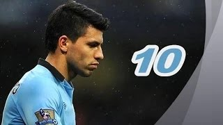 Sergio Aguero Top 10 Goals