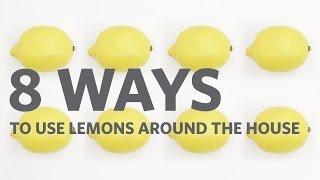 Lemon Tips: 8 Great Household Uses for Lemons