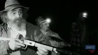 The Team Discovers the Hellhound's Kill Site | Mountain Monsters