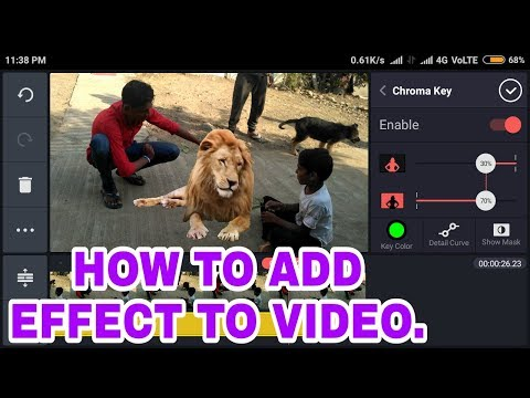 Xxx Mp4 How To Add Green Screen Effect Chroma Key In New Video 2018 BY MH 40 3gp Sex