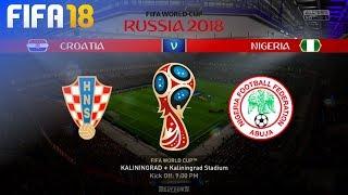 FIFA 18 World Cup - Croatia vs. Nigeria @ Kaliningrad Stadium (Group D)