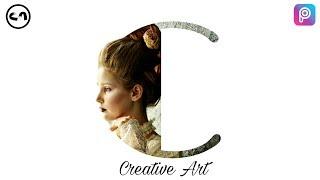 Picsart Tutorial - Letter Portrait