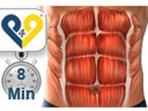 Abdominales en 8 minutos entrenamiento para hacer abdominales perfectos
