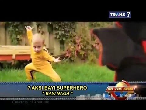On The Spot - 7 Aksi Bayi Superhero