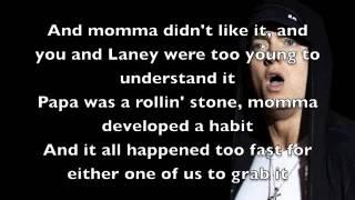 Mockingbird - Eminem [Lyrics]