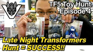 Late Night Transformers TLK Toy Hunting = SUCCESS! - [TF5 Toy Hunt Episode 4]