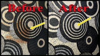 How To Clean Sofa With Baking Soda and Lemon!