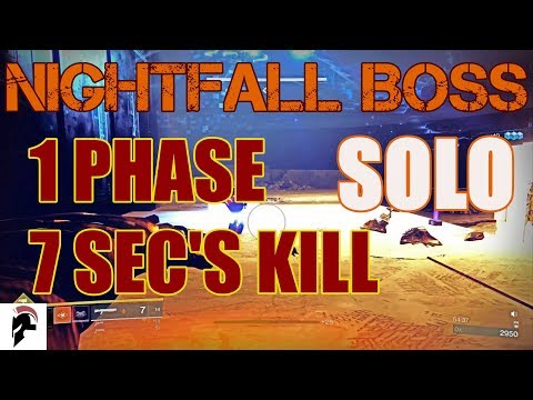 Xxx Mp4 Destiny 2 Solo Prestige Nightfall Boss 7 Seconds Kill Without IKELOS SG V1 0 1 Or Acrius 3gp Sex