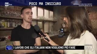 Non sempre l'italiano lavora meglio - Agorà Estate 19/07/2017