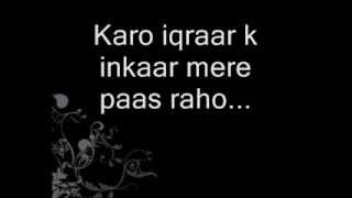Mere Qatil Mere Dildaar Lyrics