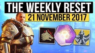 Destiny 2 | IRON BANNER RETURNS! - Weekly Reset, Challenges, Nightfall & Eververse! (21st November)