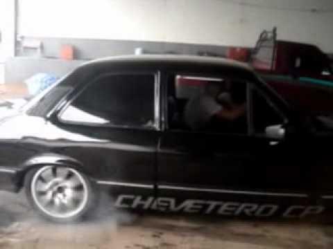 SERGINHO CHEVETTE fritando pneus cp