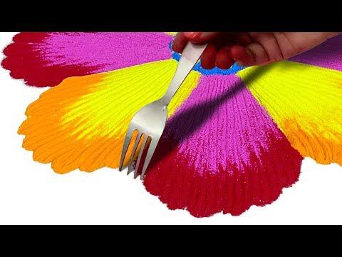 Xxx Mp4 Beautiful Rangoli Design बनाने का तरीका Rangoli Easy And Beautiful Designs For Diwali 3gp Sex