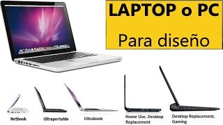 ¿Cuál es la mejor laptop o PC para diseño Gráfico y 3d?