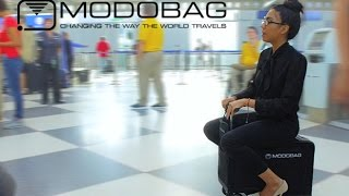 Modobag: World's First Motorized, Rideable Luggage!