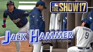 MLB The Show 17 Jack Hammer Road To The Show (SS) EP127 MLB 17 Debut!