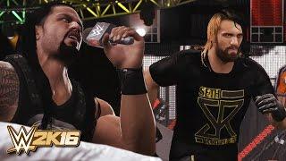 WWE 2K16 - Seth Rollins Returns 2016 & The Shield Reunite