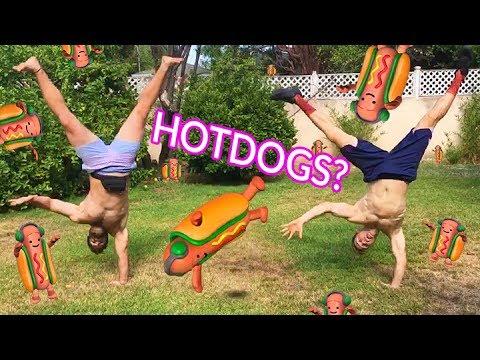 Xxx Mp4 DANCING HOT DOG CHALLENGE W Joe Wegner 3gp Sex