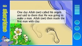 The Story of Prophet Adam (as) with Zaky - The First Man   HD