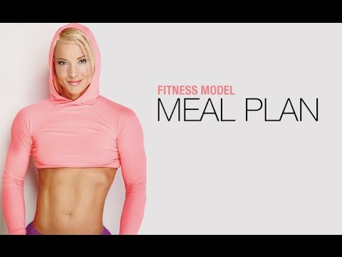 Fitness Model Nutrition Plan EXACTLY WHAT SHE EATS