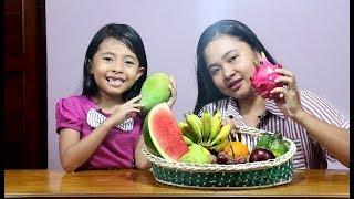 fruit challenge indonesia - blindfolded fruit tester - tebak nama buah