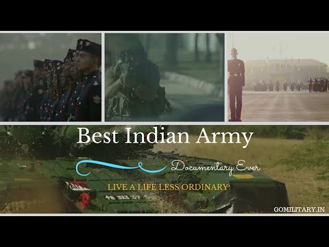 Best Indian Army Documentary Video Ever Made - Live a Life Less Ordinary