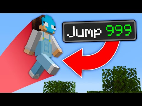 Minecraft But Every Jump Is Multiplied