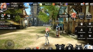 Top 10 OPEN World MMORPG Games Android 2017 HD