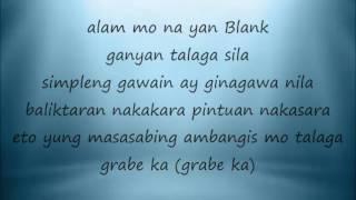 pag may alak may balak lyrics