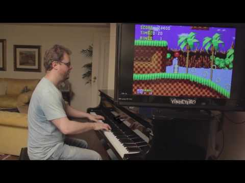 Sonic on Piano